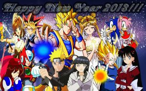 Happy New Year 2013!!! by dbzandsm