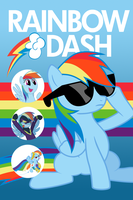 Rainbow Dash iPhone Wallpaper by xFlicker