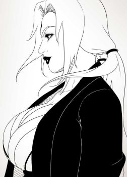 Tsunade Sketch by N6023