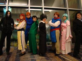 Yu Yu Hakusho Group by SoaringVisions