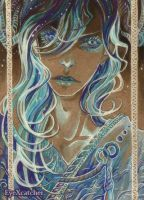 watch yourself_ACEO by Eye-X-catcher