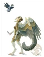 The Magpie and I by Shadow-Wolf