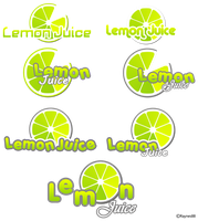 Lemon Juice Logo Preview by Raynes88