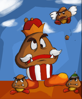 Bunch of goombas by Crazy-tim