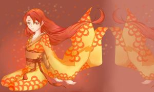 Goldfish by Iori-dono