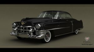 Cadillac Deville coupe 1953 by Siegfried-Ukr