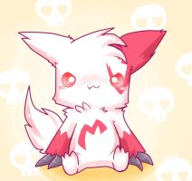 Chibi zangoose by LeaderWolfGirl
