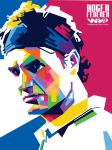 Roger Federer On WPAP by vdlart