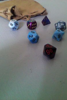 Dice collection by Piglovearon
