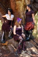 3 Forest Gals by Storms-Stock