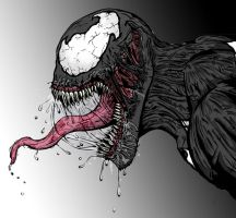 Symbiote Colored by xenomorph01