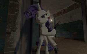 PF2 - Meet Rarity - RED Rarity by TBWinger92