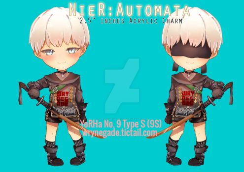 YoRHa No. 9 Type S by wryn-negade