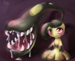 Miss Mawile by canarycharm