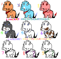 .: Adopts (OPEN) :. by blueberry-tea