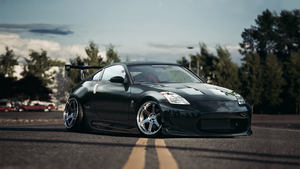 350z BLACK Final by LancerKAGE