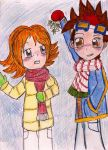 Tagiru Yuu and The Mistletoe by Xx-Angel-Sherubii-xX