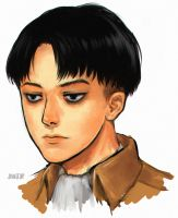 levi portrait by sunako21