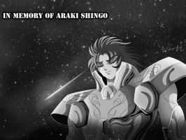 in memory of Araki Shingo- by srw13