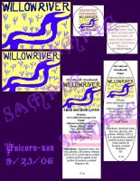 Willow River Labels by unicorn-san