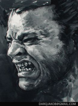WOLVERINE: toothache by darqjakob