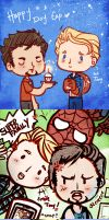 Superfamily - Avengers sketch dump by SiliceB
