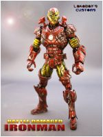 Battle Damaged Ironman Pt by Lokoboys