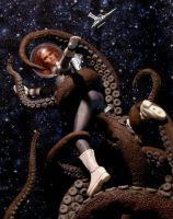 Tentacles in Space by billvolc