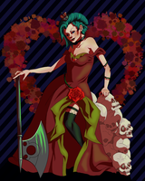 Queen of Hearts by r0m1k4