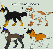 Dog/wolf character adoptables by cookiesandcheesecake