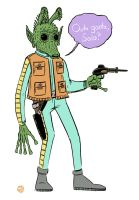 Greedo shot first by MatthewPetz