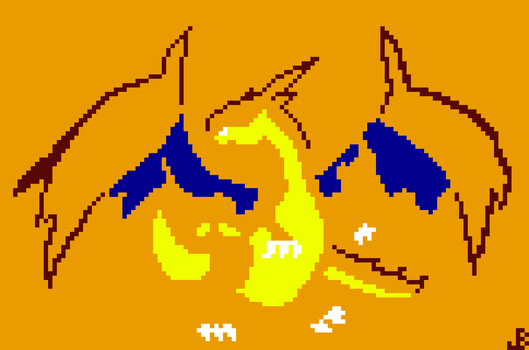 Simple Mega Charizard by LostLife24