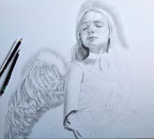 Guardian Angel WIP by Noir1992
