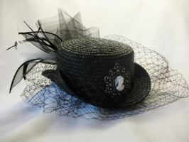 Steampunk: Ladies Hat by Lady-Mage