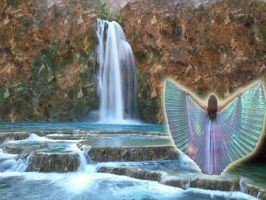 Fairy of the Falls- Opalescence by KGcopper