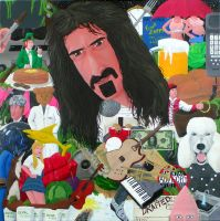 A Tribute to Frank Zappa by pisceanpainter