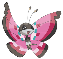 Vivillon by TheAngryAron