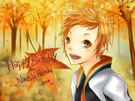 HBD to Naoshi Haruki by Crezia