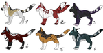 [Adopts - Set price] Hypokits by ObscureShizena