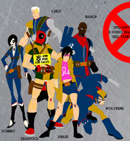 X-Force Era (With 100% More Deadpool) by Bort826TFWorld
