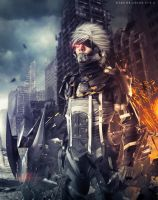 Raiden - Metal Gear Rising by Baku-Project
