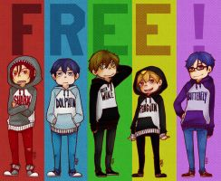 Free! - hoodies by Bisho-s