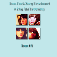 Icon Zoey Deschanel Pack #2 by Aki B. by AkiBrowning