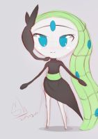 Meloetta by caoching2