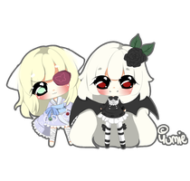 Art Trade with Muffin-Doll by Miyee