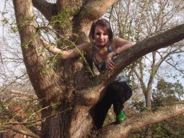 Tree Climber 1 by cling-to-forever