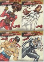 Marvel Masterpieces 2 H4H by jasinmartin