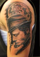 Tom Waits by asussman