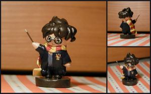Harry Potter Sculpture by LeiliaK