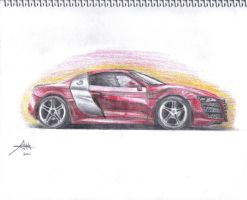 Audi R8 by Drawer888